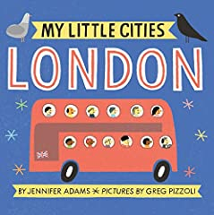 In this delightful series written by BabyLit author Jennifer Adams and illustrated by kidlit darling Greg Pizzoli, each book showcases a different city with lighthearted baby-appropriate text and ridiculously charming illustrations. Cross the...