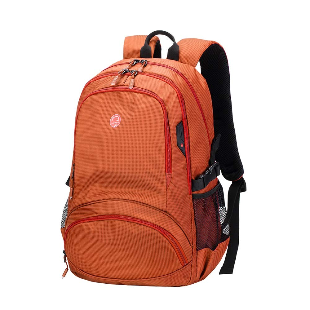 QP Large-Capacity Travel Backpack Female Travel Backpack Korean Bag Male Casual Light Waterproof Mountaineering Bag (Color : E, Size : Large)