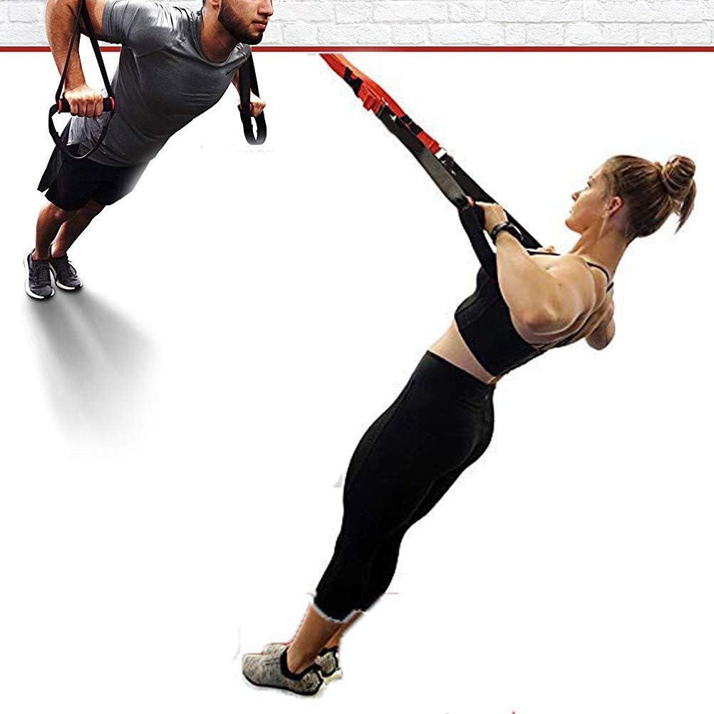 Entrenador de entrenamiento de alta gama Sling Trainer, set con bolsa, para viajes y para casa, entrenamiento en casa, gimnasio y exterior