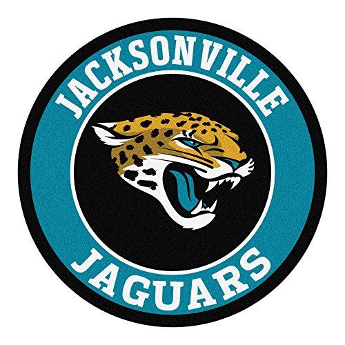 FANMATS 17962 NFL Jacksonville Jaguars Roundel Mat
