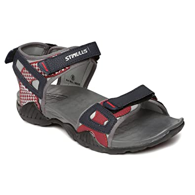 4e49336732de PARAGON Stimulus Men s Grey Sandals  Buy Online at Low Prices in ...