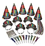 New Years Eve Cheer Party Accessories Kit for 10