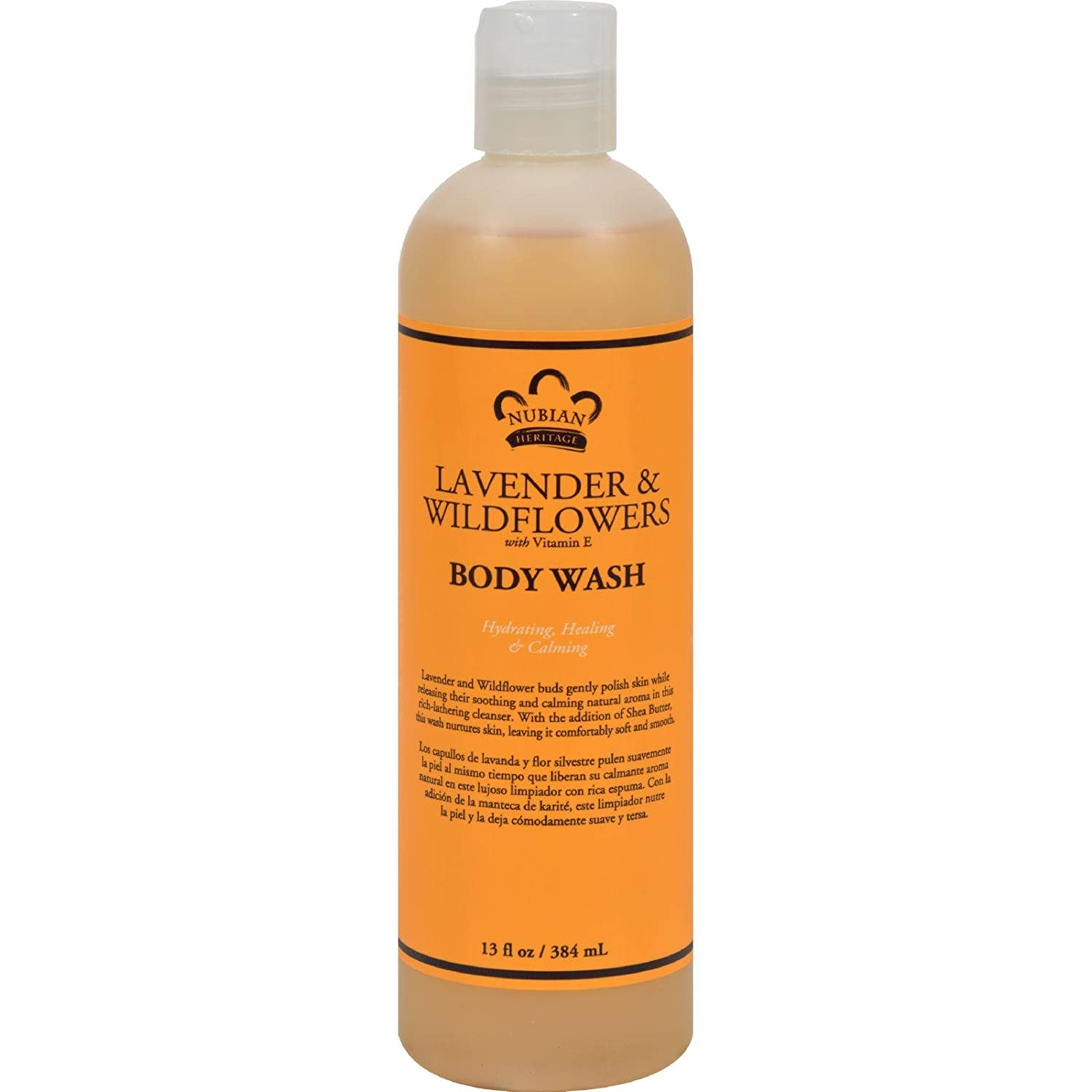 Nubian Heritage Lavender & Wildflowers Body Wash