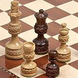 "Monte Carlo Deluxe Chessmen King: 4"""
