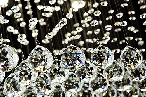 Siljoy-Modern-Rain-Drop-Lighting-Crystal-Ball-Fixture-Pendant-Chandelier-LED-Chandeliers-40W-X-20D-X-36H