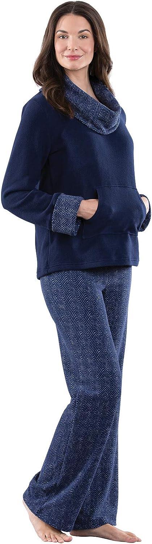 PajamaGram Super Soft Pajamas for Women Fleece Pajamas Women