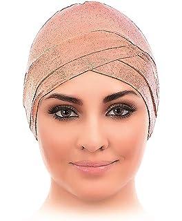Diagonal Style Viscose Spandex Fabric Hijab Under Scarf Cap Bone Head Wrap Bonnet Bone Chemo Hat