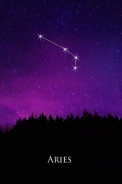 2019 Weekly Planner Aries Constellation Night Sky Astrology