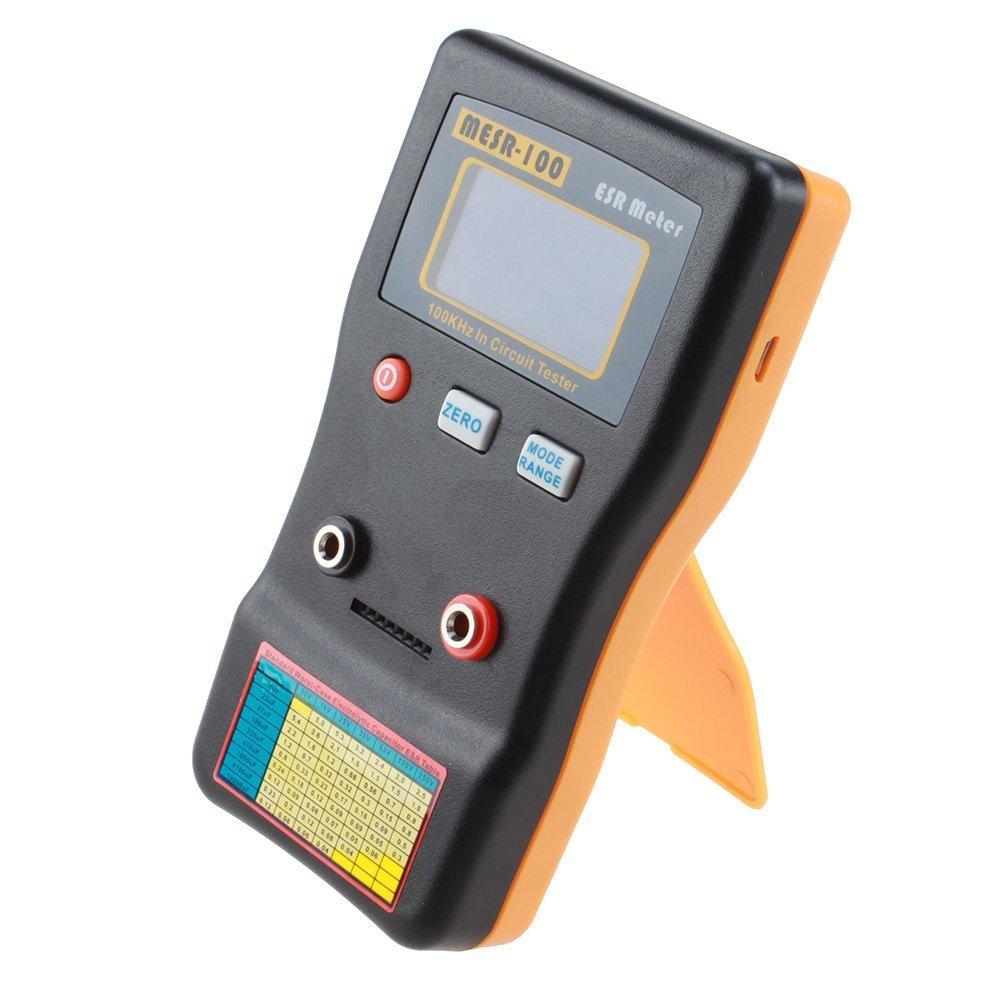 Probador condensador - TOOGOO(R) MESR100 V2 Autorrango En Circuito ESR Medidor Probador condensador (Hasta 0.001 a 100R) SPHAGT76314