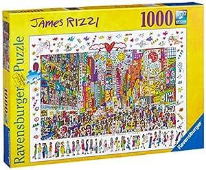 Ravensburger James Rizzi - Puzle (1000 piezas), diseño de Times Square