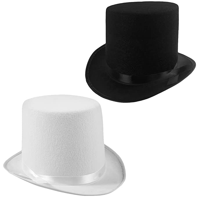 be53cabbd9b36 Image Unavailable. Image not available for. Color  Funny Party Hats Felt Top  ...
