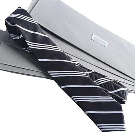 YYB-Tie Corbata Moda Moda Rayas Hombre de Negocios Caja de Regalo ...