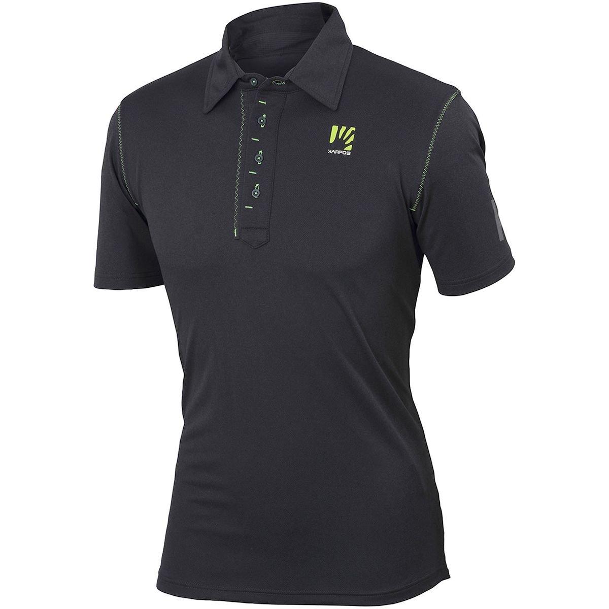Karpos Sorapiss Polo Shirt - Dark Grau schwarz