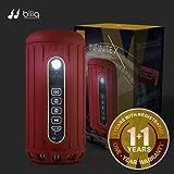 Amazon Price History for:Bliiq Infinite X Portable Bluetooth Wireless Speaker - Waterproof, Dustproof, Shockproof w/ Built-in Powerbank, LED light, Micro-SD card Slot - RUBY RED