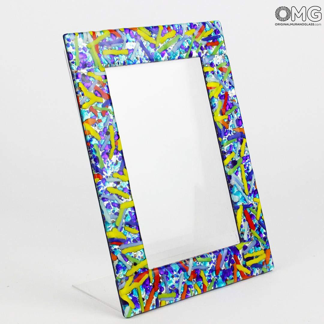 Amazon.com: Original Murano Glass OMG Marco de fotos Sky ...