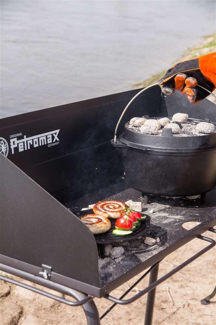 Petromax 2122360 Grille Mixte Adulte Noir