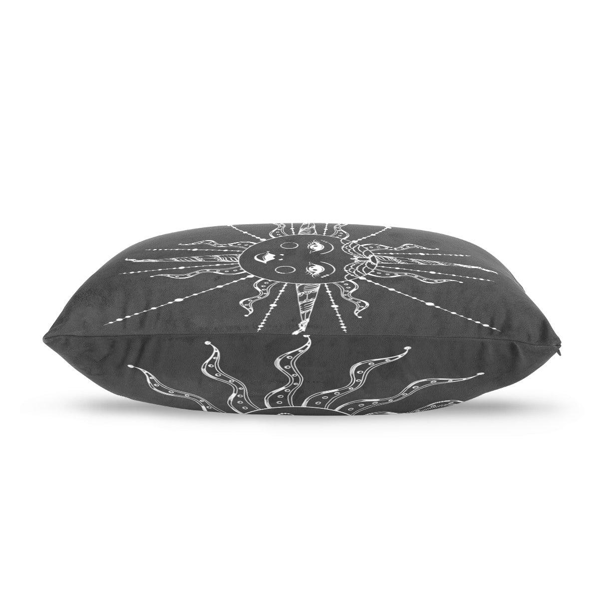 Amazon.com: Dragon Sword Boho - Funda de almohada elegante ...
