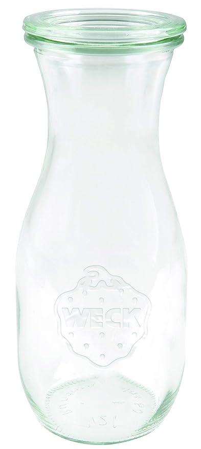 Weck 766 Zumo Botella 1 l Bormioli Fido (einweck de calidad, con ...