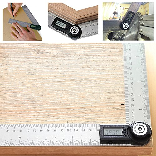 Agile shop Digital Finder Protractor Stainless