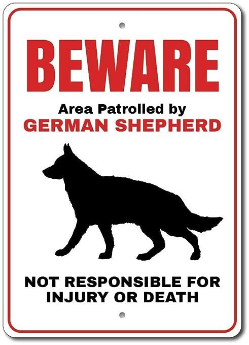 Amazon.com : German Shepherd Sign, German Shepherd Gift, German ...