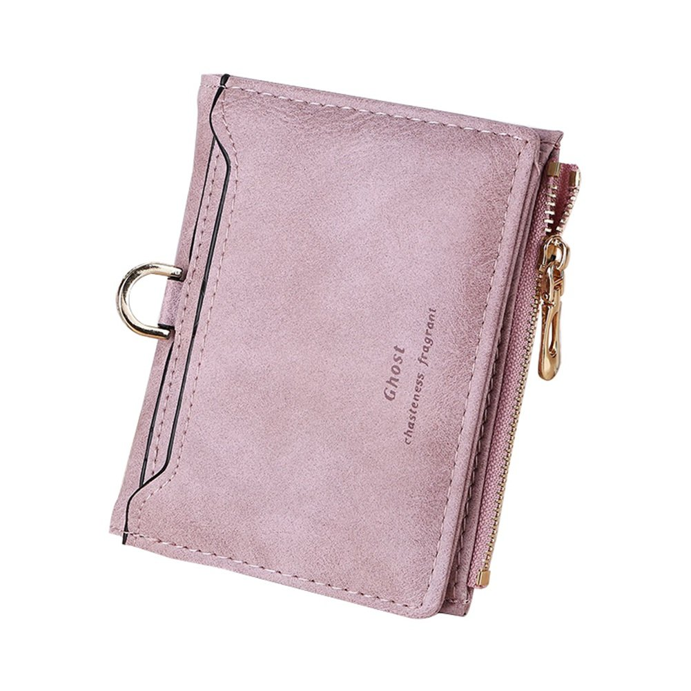 TJEtrade Wallets for Women Small Slim Cute Leather Bifold Card Holder Coin Purse
