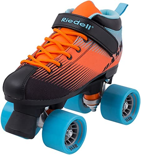 Riedell Skates – Dash – Indoor Quad Roller Skate for Kids