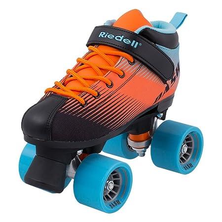 Riedell Skates – Dash – Indoor Quad Roller Skate for Kids