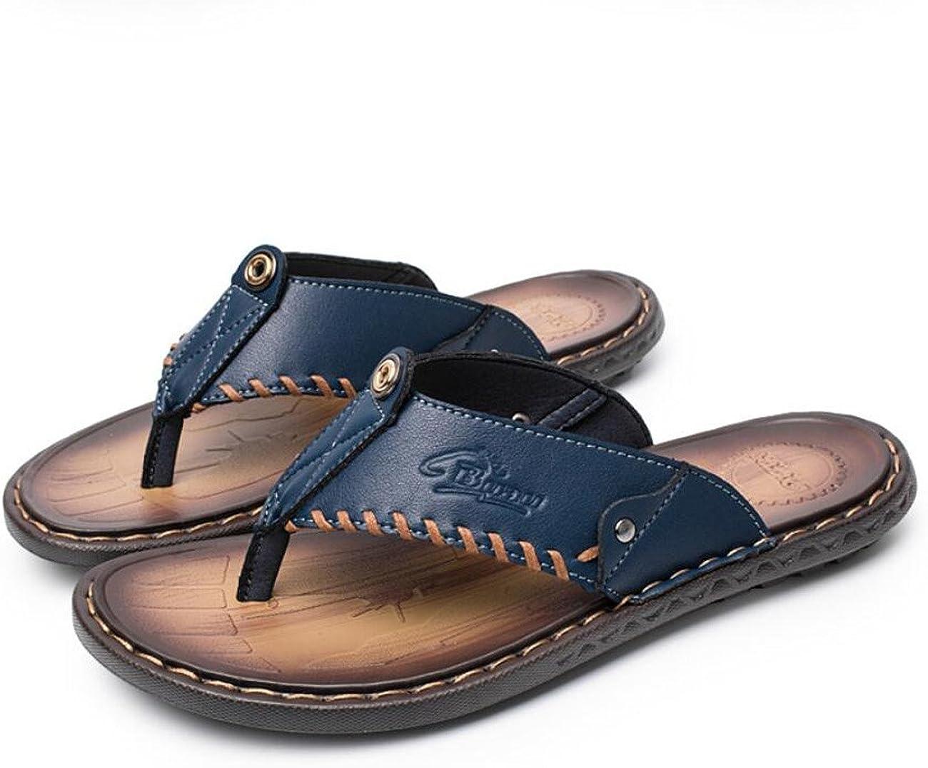 DANDANJIE Mens Lightweight Slide Slippers Waterproof Flip Flops for Home Beach Swimming Pool Sandals Outdoor Shoes
