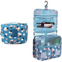 Discoball Portable Travel Folding Make up Toiletry Bags with Hook Organizer Bags Cosmetic Bags