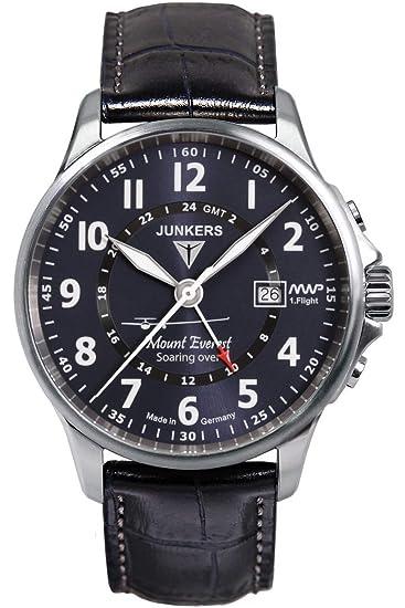 Junkers Armbanduhr 6846-3 Herrenuhr