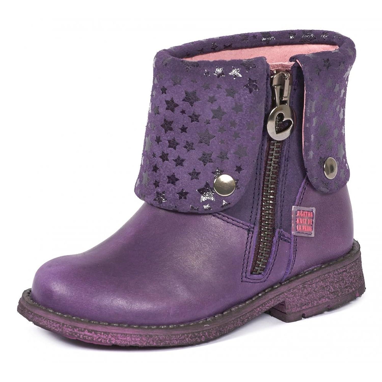c9f638c367f14 Agatha Ruiz de la Prada Bottines Fille Violet 151925C
