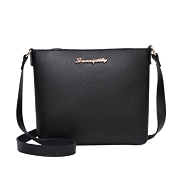 0439836c7baa Amazon.com : ❤ Sunbona Messenger Bags Women Fashion Solid Color ...
