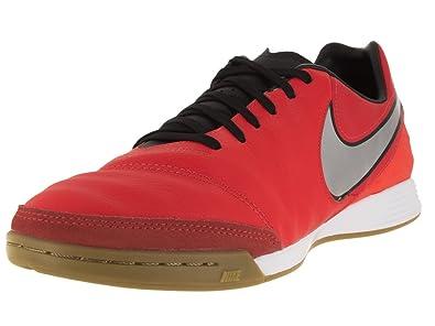 Nike Men s Tiempo Mystic V IC Light Crimson Metallic Silver TTL Crmsn  Indoor Soccer d3aca51615