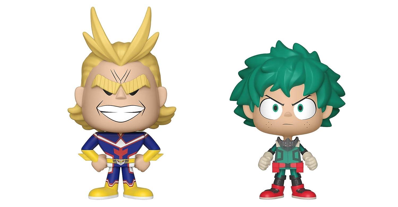 My Hero Academia Funko Vynl All Might /& Deku 2 Pack Toy Multicolor 33429