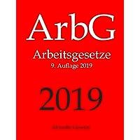 ArbG, Arbeitsgesetze, Aktuelle Gesetze