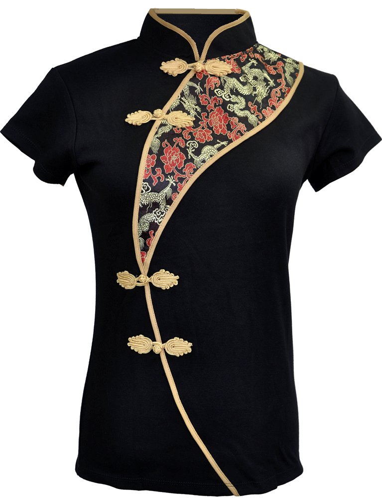 Amazing Grace Sexy Chinese Dress Top (Large, Sophisticated Lady)