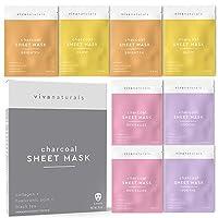 Face Mask for Korean Skincare - Sheet Mask for Detoxifying, Cleansing, Moisturizing...
