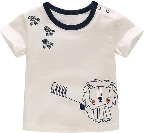 Camiseta Bebé Niño - Recién Nacido Niño Pequeño De Manga Corta ...