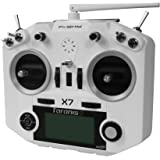 FrSky 2.4G ACCST System Taranis Q X7 16 Channels Transmitter Remote Controller White Battery and Battery Trays Not…