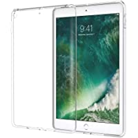 Jonerytime_ Keyboard Ultra Clear Transparent Soft Silicone TPU Case Cover for Ipad Mini 5 7.9Inch 2019 Compatible for ipad Mini 5 7.9inch White