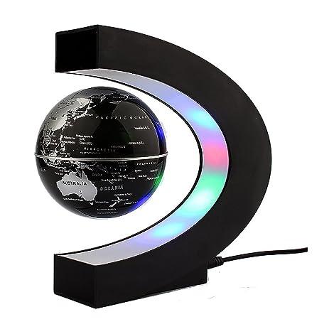 Image result for C shaped FLoating Globe GOLDEN