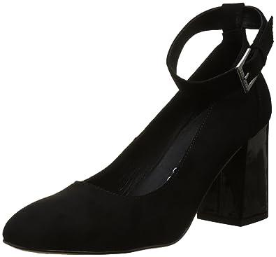 CHATTAWAK Women s Laurette Ankle Strap Heels B073PCXKNY