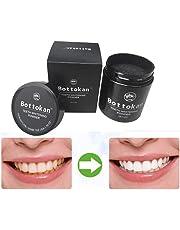 Dientes blanquear carbono coco orgánico polvo de carbón natural esmalte de dientes By LMMVP (A