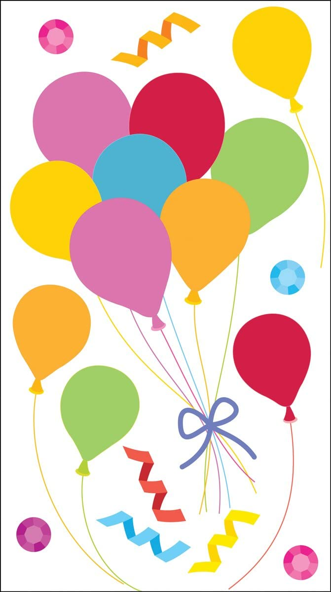 Jolly Boutique Vellum Balloons 50-50202 Jolees Boutique 0015586891966 Other