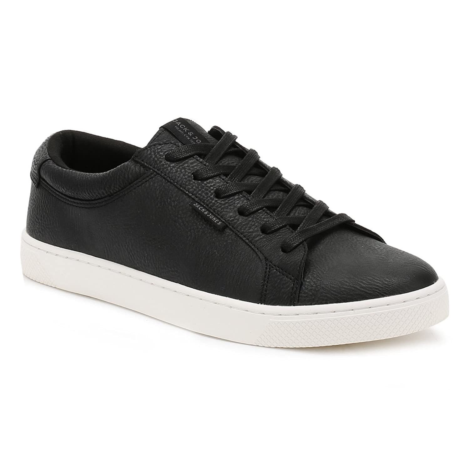 Mens Jfwmervin Textile Anthracite Low-Top Sneakers, Black (Anthracite) Jack & Jones
