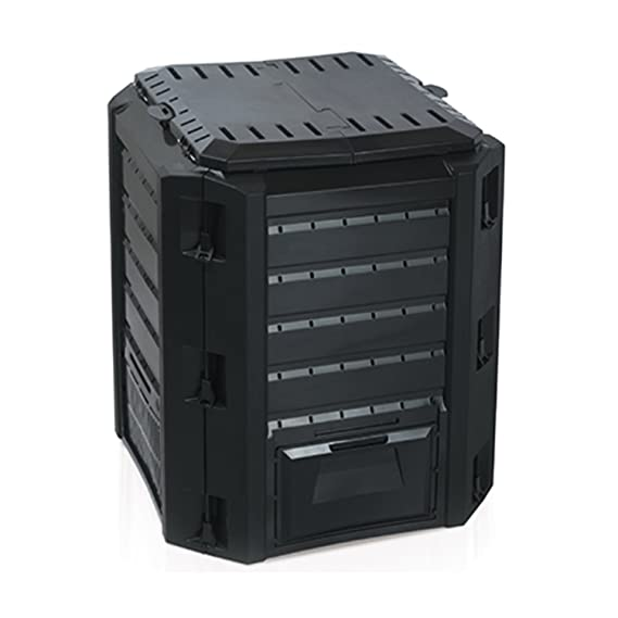 Compostador Composter - Compostador 380L Negro Top calidad ...