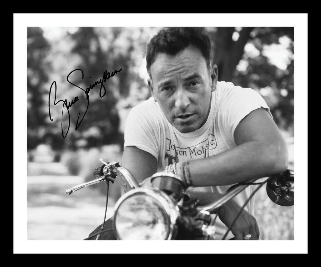 Bruce Springsteen Autographed Signed /& Framed Photo Poster