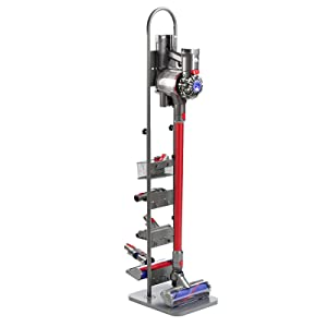 Masterpart Docking Station & Tools Floor Stand for Shark, Vax, Dyson Handheld V6 V7 V8 V10 DC30 DC31 DC34 DC35 DC59 Cordless Vacuum Cleaners, Grey
