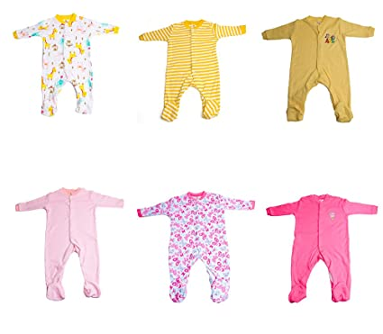 ed8bc25e4 Baybee Premium Quality Full Sleeve Cotton Sleep Suit - Romper Set ...