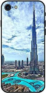 Case For iPhone 7 - Burj Khalif Touching Clouds